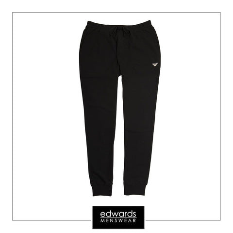 Emporio Armani Track Bottoms in Black