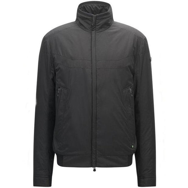 BOSS Athleisure Jakes-4 Nylon Bomber Jacket in Black