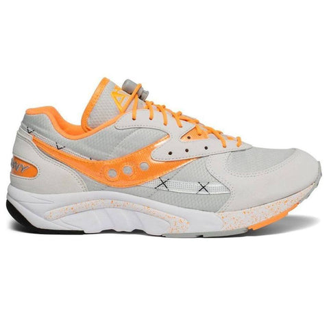 Aya Trainers In White/Grey/Orange Trainers Saucony