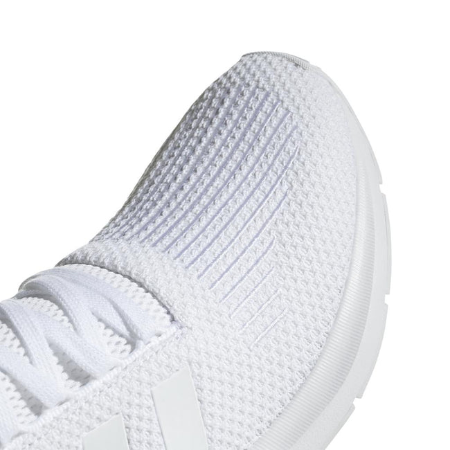 Adidas Swift Run B37725 in White / White Trainers adidas