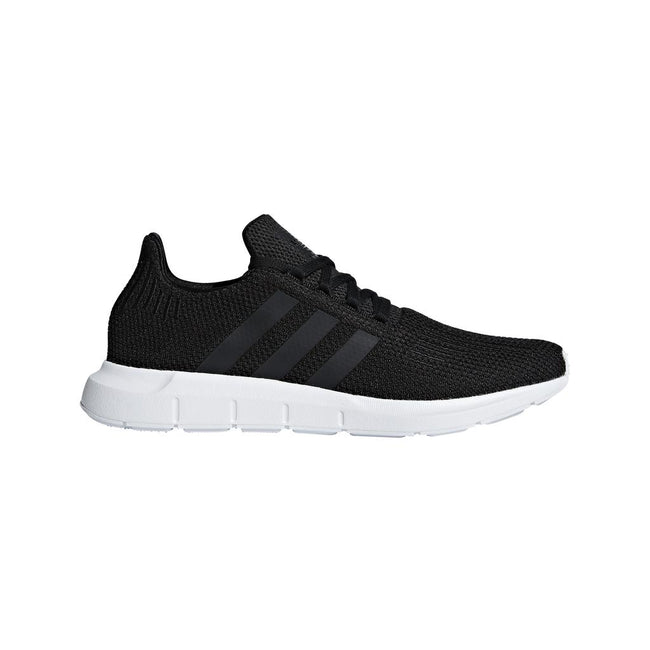 Adidas Swift Run B37726 in Black / White Trainers adidas