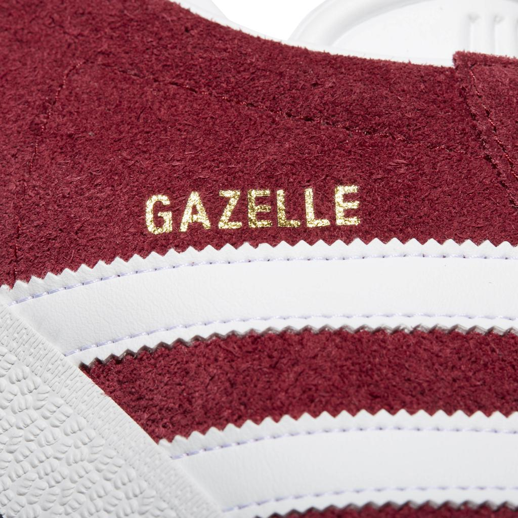 Adidas Gazelle B41645 in Burgundy / White / Gold