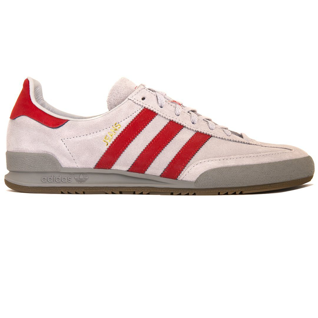 Adidas B42229 Jeans in Grey/Red