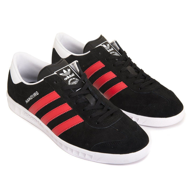 Adidas Hamburg BB5300 in Black/Red/White