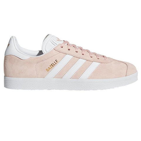 BB5472 Gazelle in Vapour Pink / White / Gold Trainers adidas