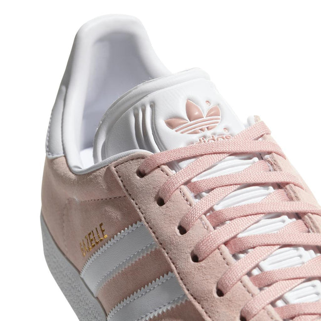 Adidas Gazelle BB5472 in Vapour Pink / White / Gold Trainers adidas