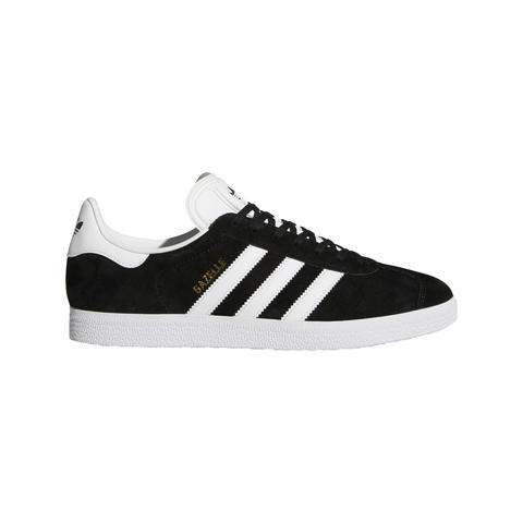 BB5476 Gazelle Shoes in Core Black / Footwear White / Clear Granite Trainers adidas
