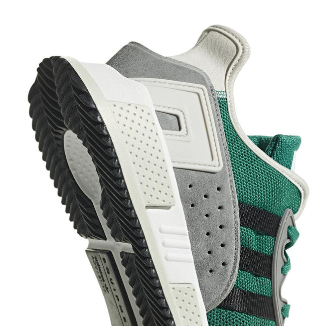 Adidas BB7179 EQT Cushion ADV in Sun Green/ Core Black/ Core One Trainers adidas