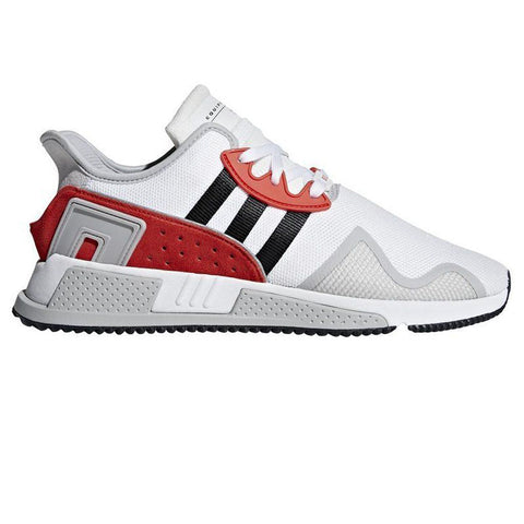 BB7180 EQT Cushion ADV in Ftwr White/ Core Black/ Hi-Res Red Trainers adidas