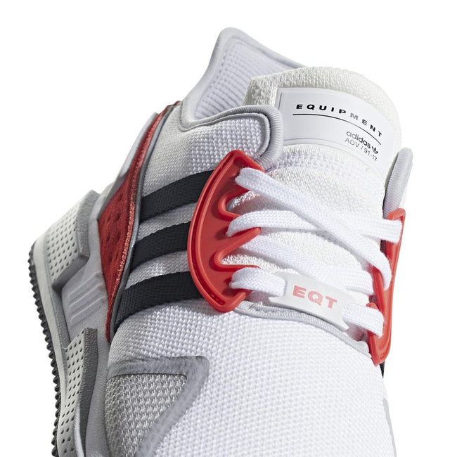 Adidas BB7180 EQT Cushion ADV in Ftwr White/ Core Black/ Hi-Res Red Trainers adidas