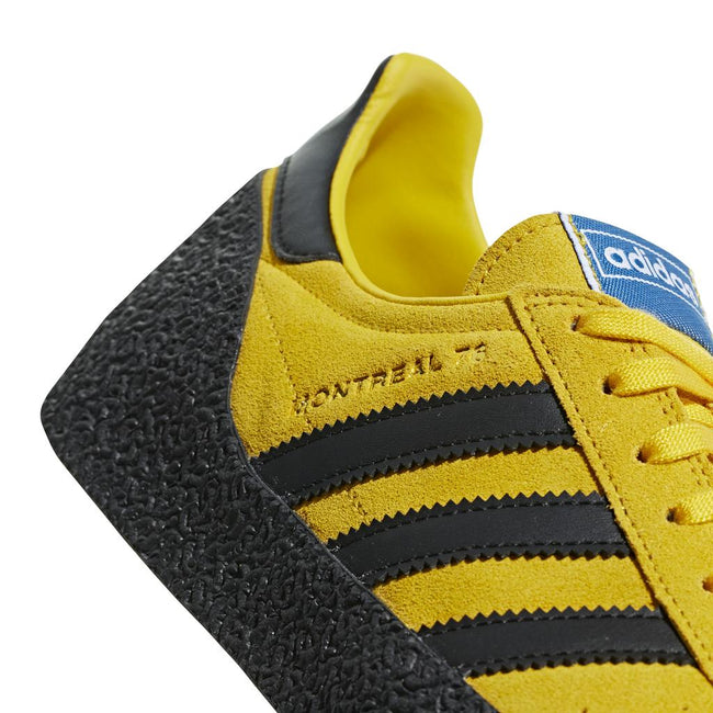 Adidas Montreal 76 BD7635 in Bold Gold / Black / Gold