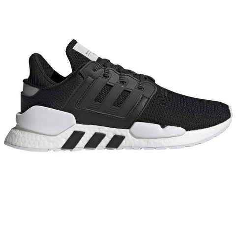 EQT Support 91/18 BD7793 in Black / Black / White Trainers adidas