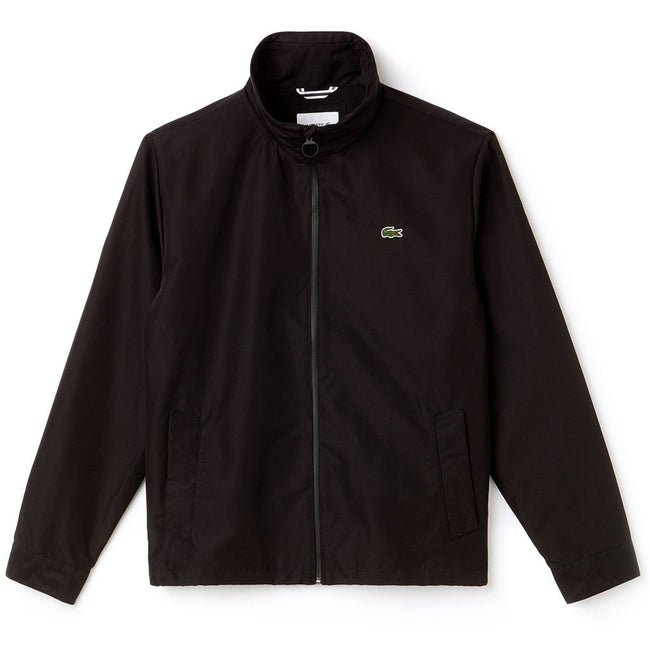 Lacoste BH9193-031 Full Zip Jacket in Black