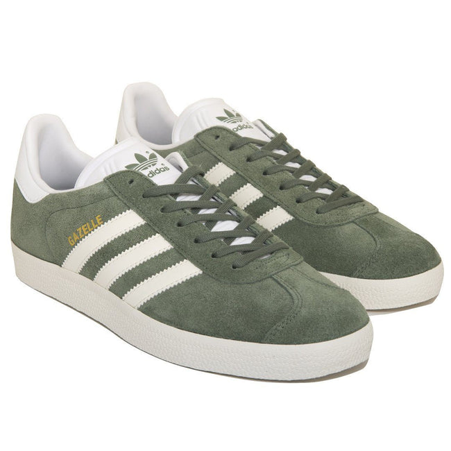 Adidas Gazelle BY8958 Trainers in Green/White/White