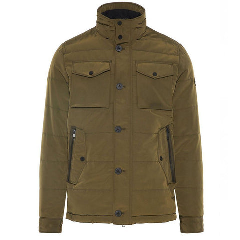 J. Lindeberg Bailey Padded Jacket in Dark Green Coats & Jackets J. Lindeberg