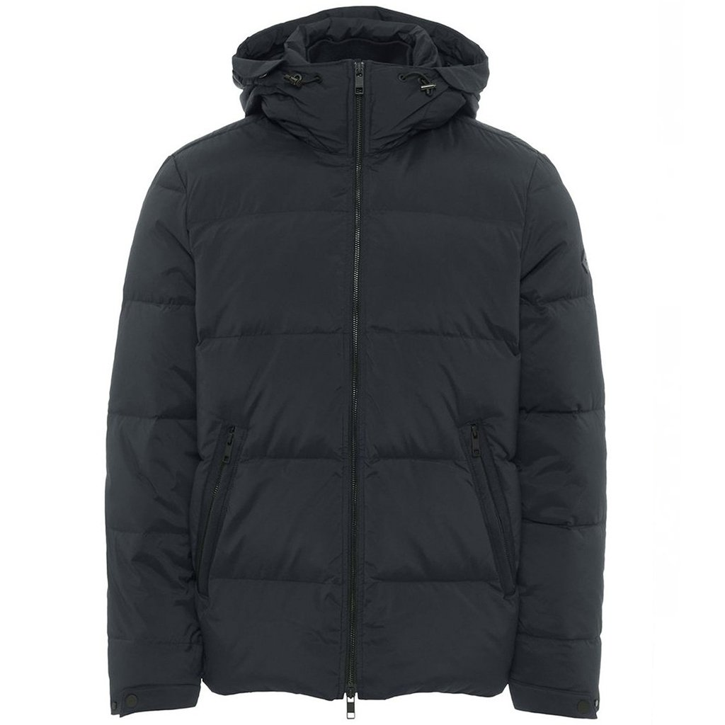 J. Lindeberg Barry Stretch Nylon Jacket in Black