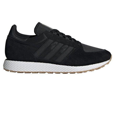 CG5673 Forest Grove in Core Black/ Core Black/ Gum Trainers adidas