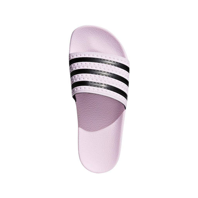 adidas CG6148 Adilette Sliders Clear Pink/Core Black adidas