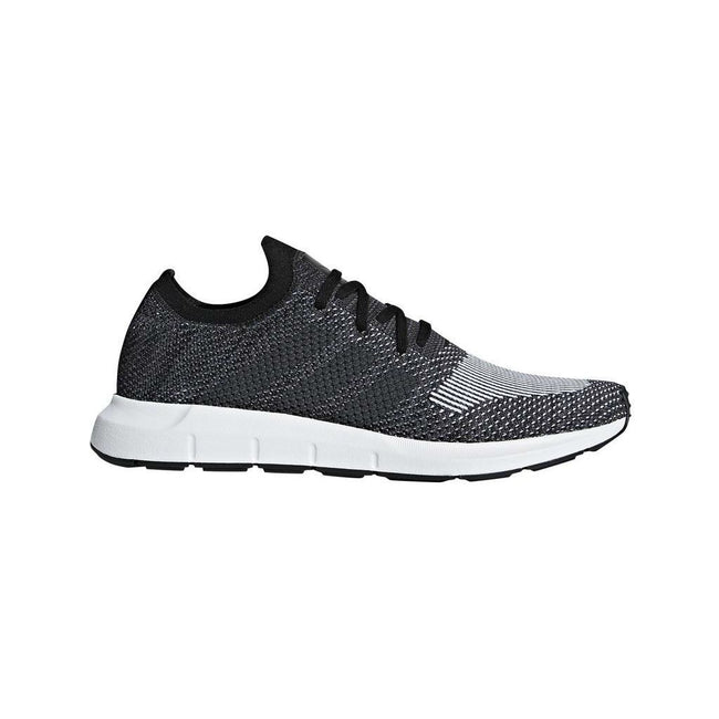 Adidas Swift Run Primeknit CQ2889 in Black / Grey Trainers adidas