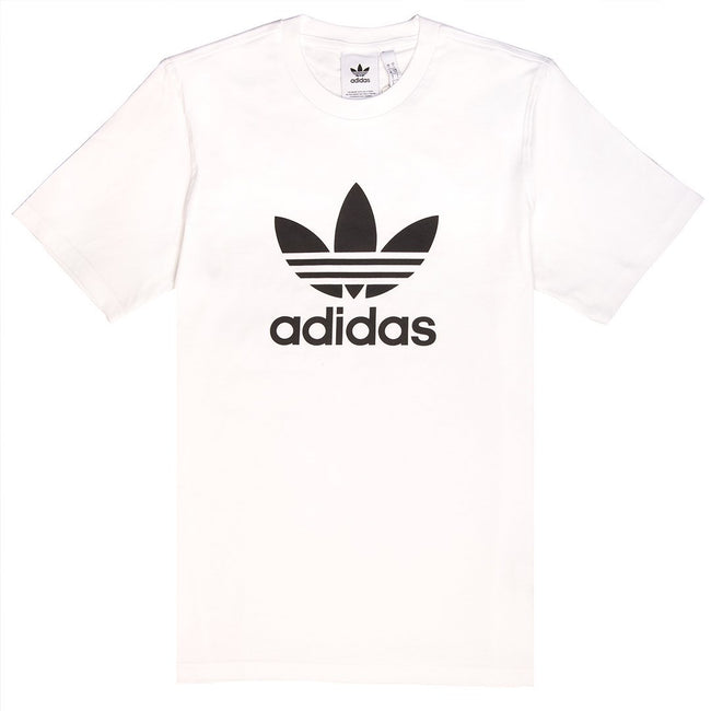 Adidas CW0710 Trefoil T-shirt in White