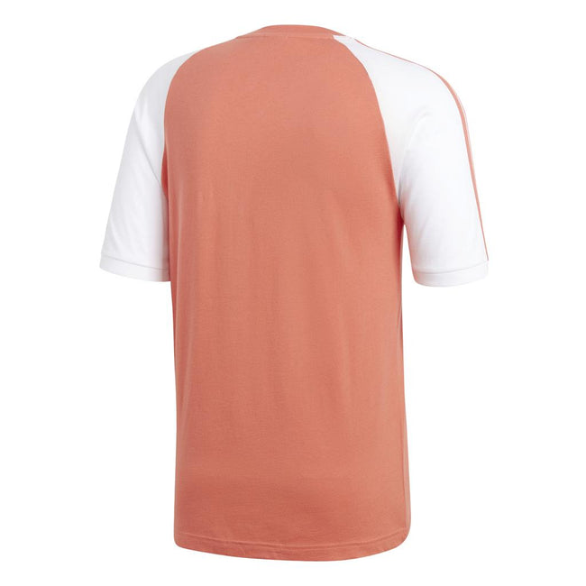 Adidas 3 Stripe Tee CW1204 in Pink Trace Scarlet T-Shirts adidas