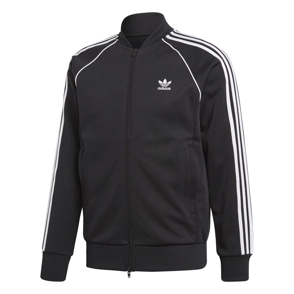 Adidas SST Track Jacket CW1256 in Black Jumpers adidas