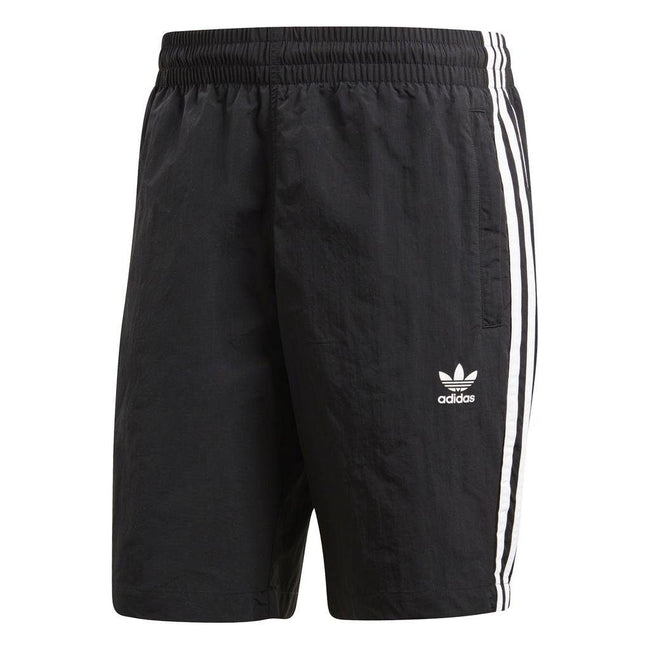 adidas CW1305 3-Stripe Swim Shorts in Black Shorts adidas