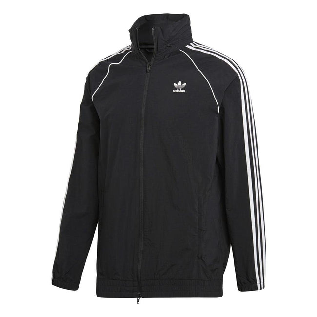 adidas CW1309 SST Windbreaker in Black Coats & Jackets adidas