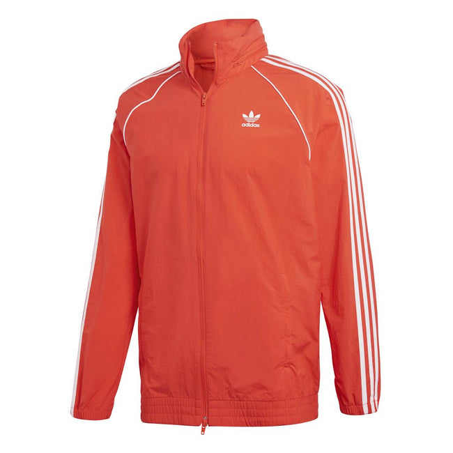 Adidas Windbreaker CW1310 in Hi-Resolution Red Coats & Jackets adidas