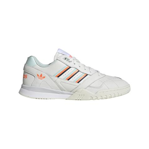 D98157 A.R. Trainer in Cloud White / Ice Mint / Solar Orange Trainers adidas