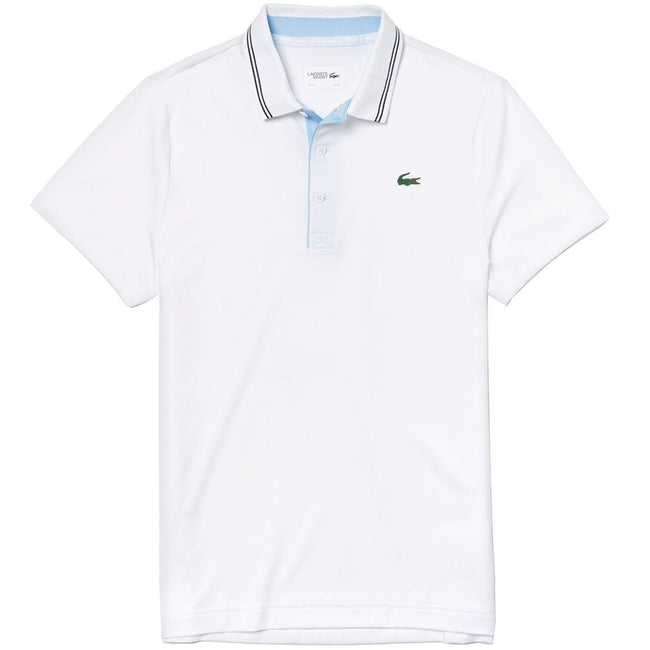 Lacoste Sport DH3360-6QY Stretch Technical Polo in White