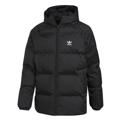 Adidas DH5003 SST Reversible Down Jacket in Black Coats & Jackets adidas
