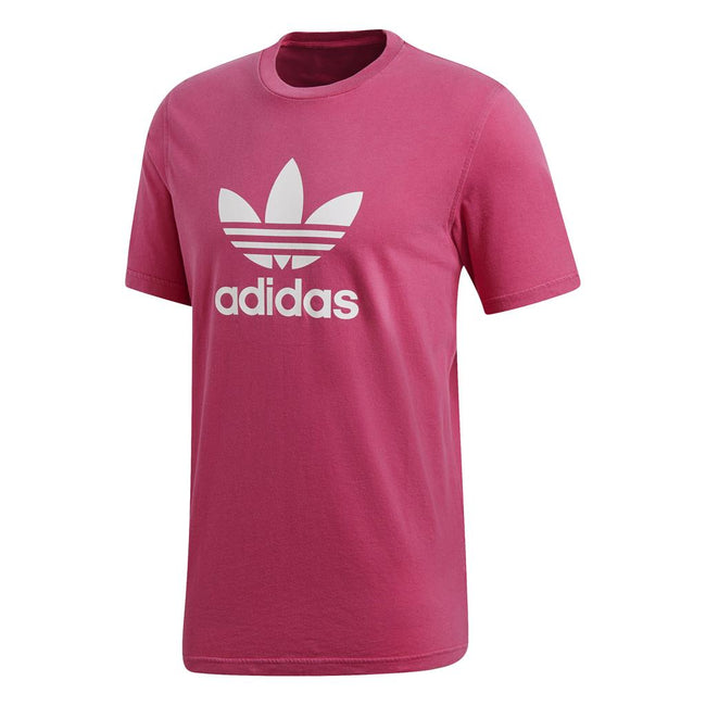 Adidas DH5776 Trefoil T-Shirt in Shock Pink