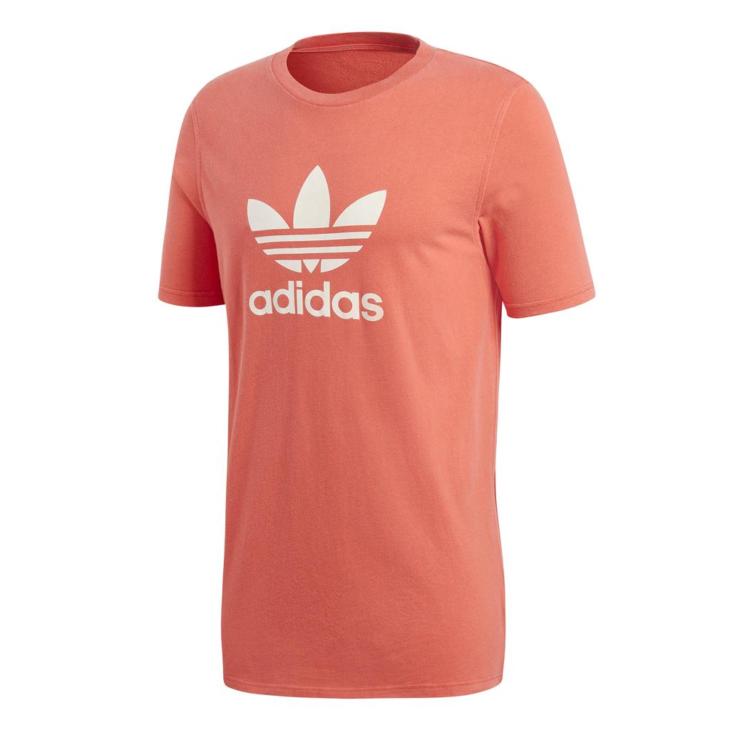 Adidas Trefoil Tee DH5777 in Bright Red T-Shirts adidas