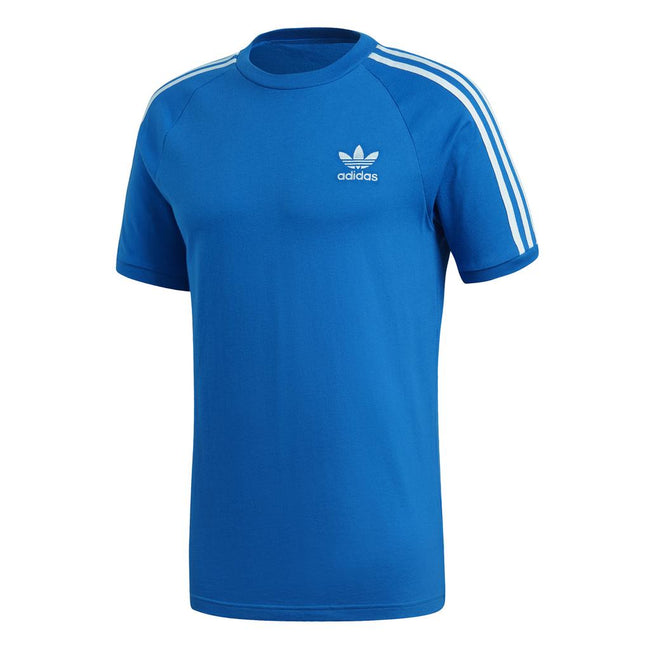 Adidas 3 Stripe Tee DH5805 in Bluebird