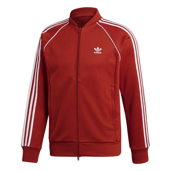 Adidas Originals DH5823 SST Track Top in Shift Orange