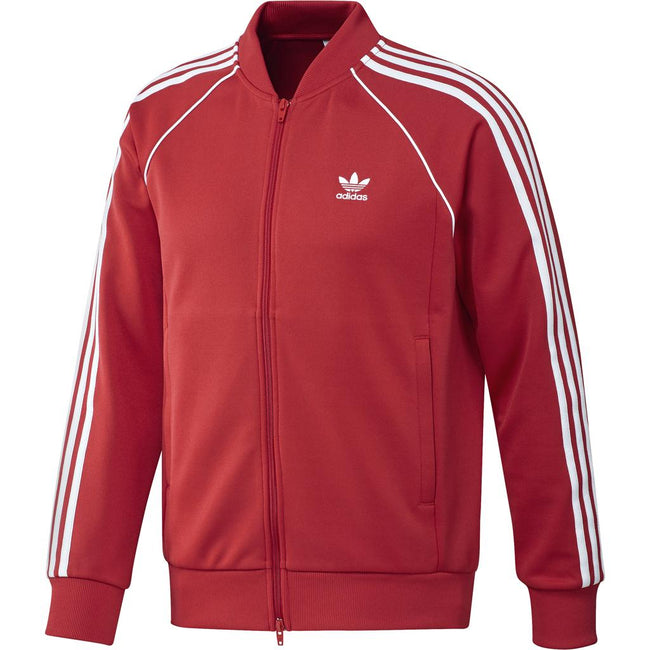 Adidas SST Track Jacket DH5824 in Collegiate Red