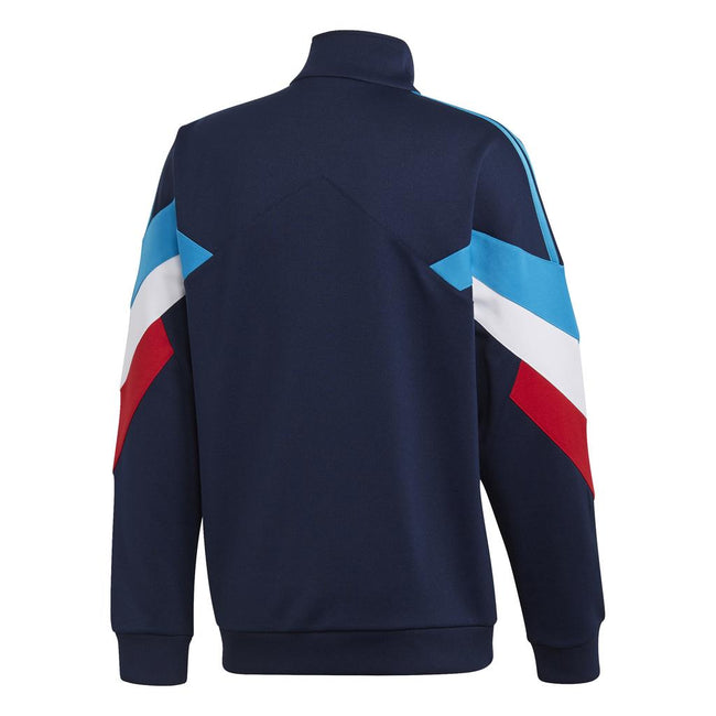 Adidas Originals DJ3459 Palmeston Track Top in Navy / Aqua Coats & Jackets adidas