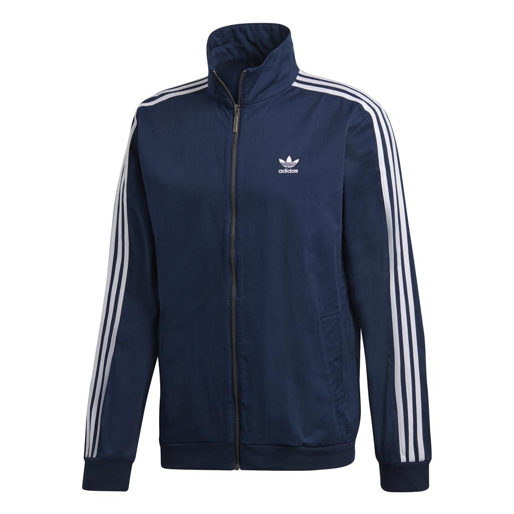 Adidas Woven Track Top DL8639 in Collegiate Navy