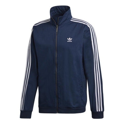 Adidas Woven Track Top DL8639 in Collegiate Navy Jumpers adidas