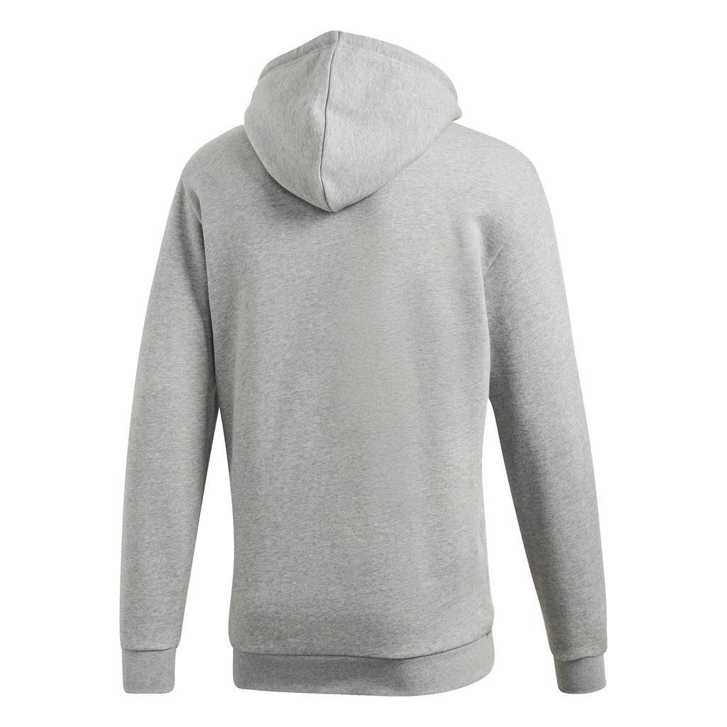 Adidas Trefoil Hoodie DT7963 in Grey Heather