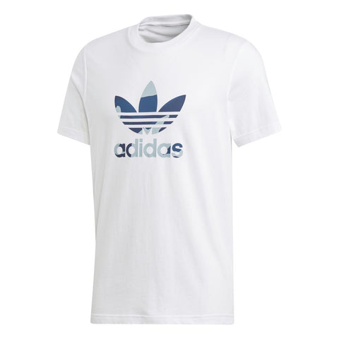 DX3676 Camouflage Trefoil T-Shirt in White T-Shirts adidas