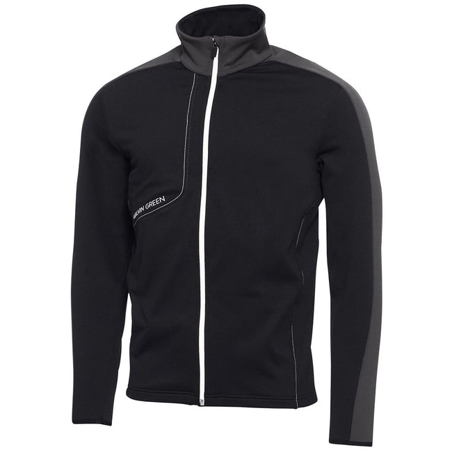 Galvin Green Dario Insula Jacket in Black / Iron Grey