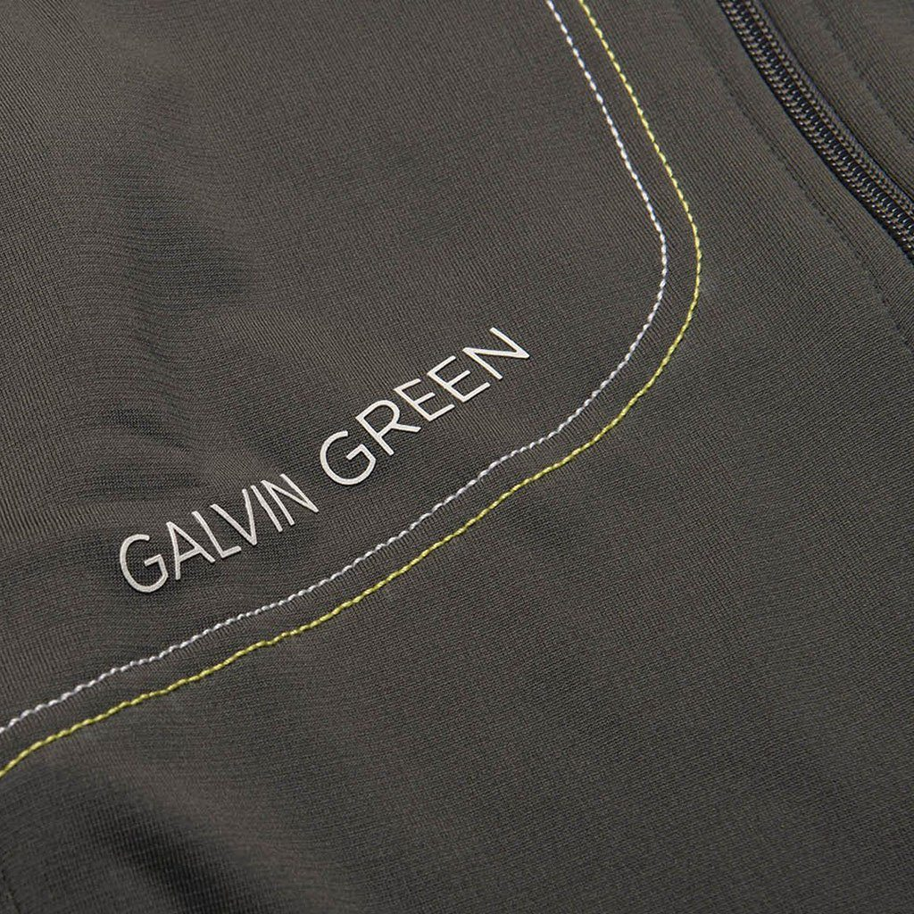 Galvin Green Dario Insula Jacket in Beluga Grey / Lemonade