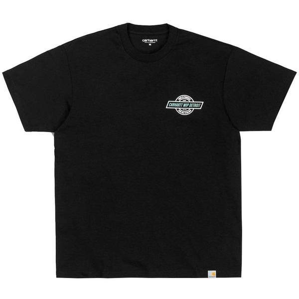 Carhartt Detroit Emblem T-shirt in Black T-Shirts Carhartt