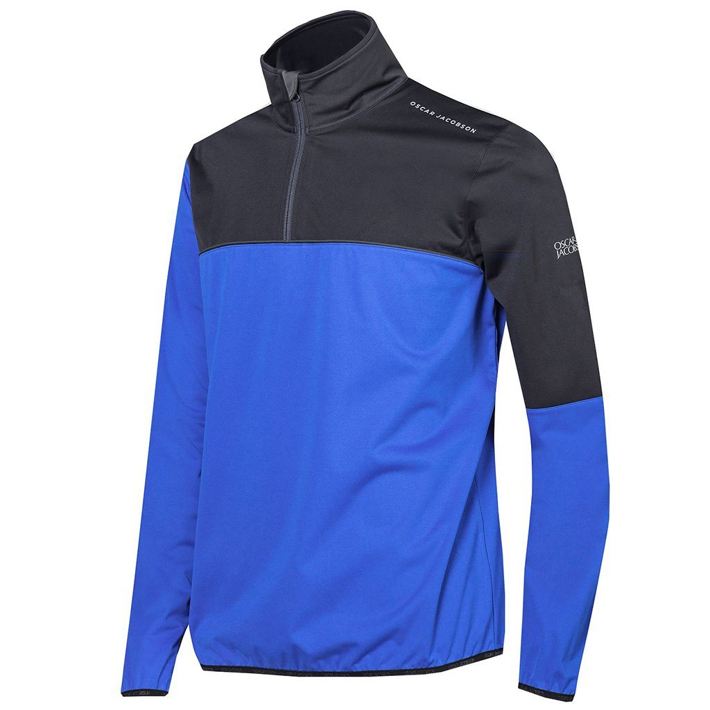 Oscar Jacobson Donovan Course Jacket in Blue / Black