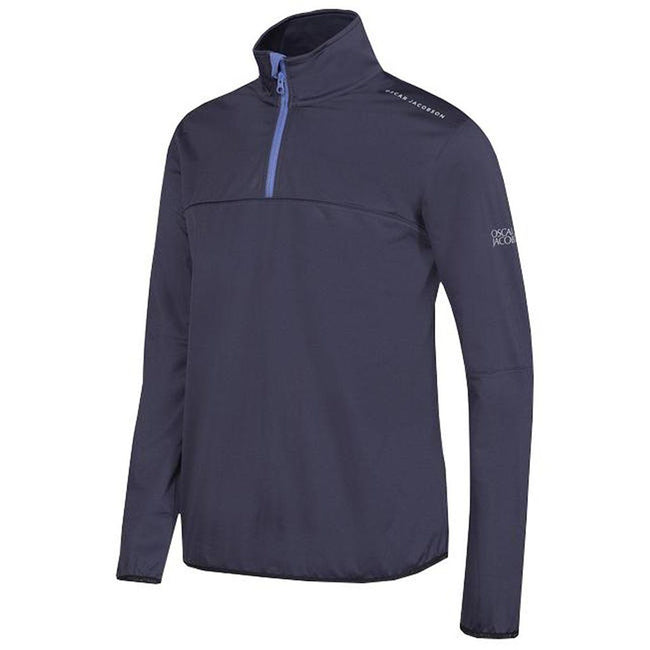 Oscar Jacobson Donovan Course Jacket in Navy Blue
