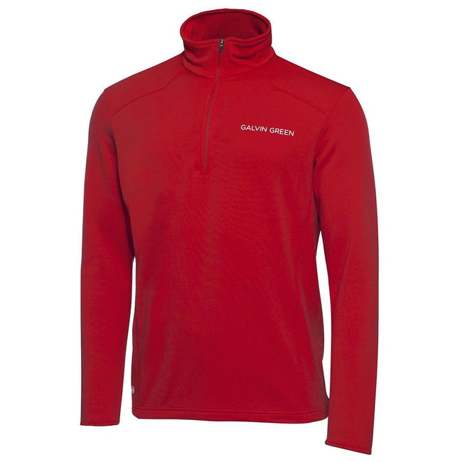 Galvin Green Dwayne Tour Pullover in Red