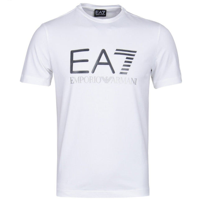 Emporio Armani EA7 Carbon T-shirt in White