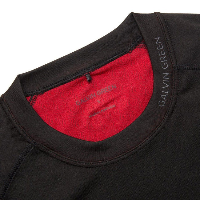 Galvin Green Elmo Skintight Thermal Base Layer in Black / Red Long Sleeve Tops Galvin Green